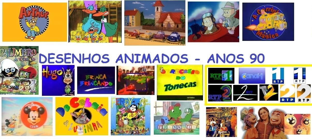 Desenhos Animados Anos 90