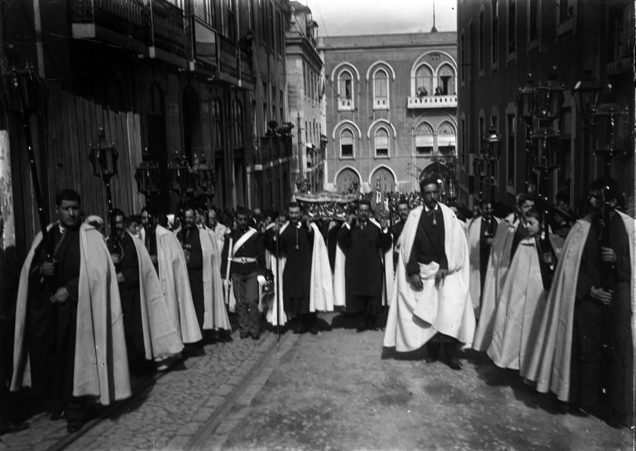 Procissão do Triunfo ou dos Santos Nus, ant. a 19