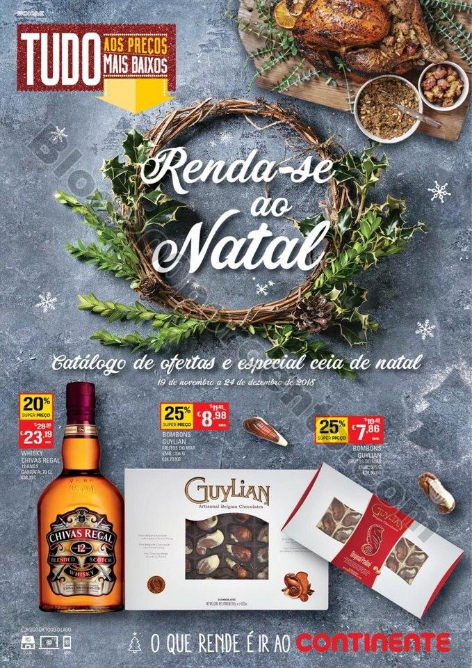 Antevisão Folheto CONTINENTE Especial Natal promo