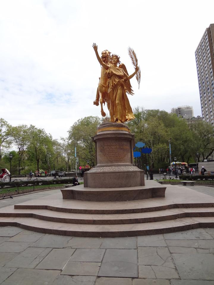 Central Park com 5ª Avenida NYC