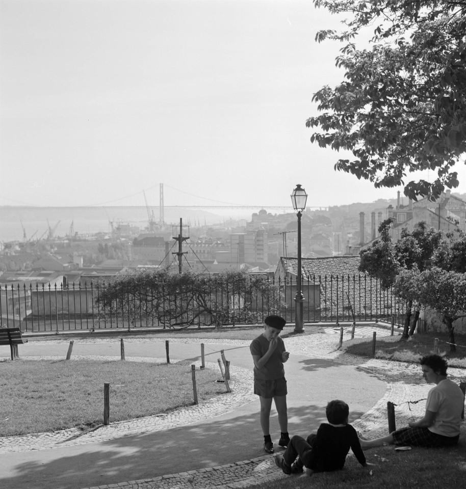 Jardim do Alto de Santa Catarina, 1968, foto de Ar