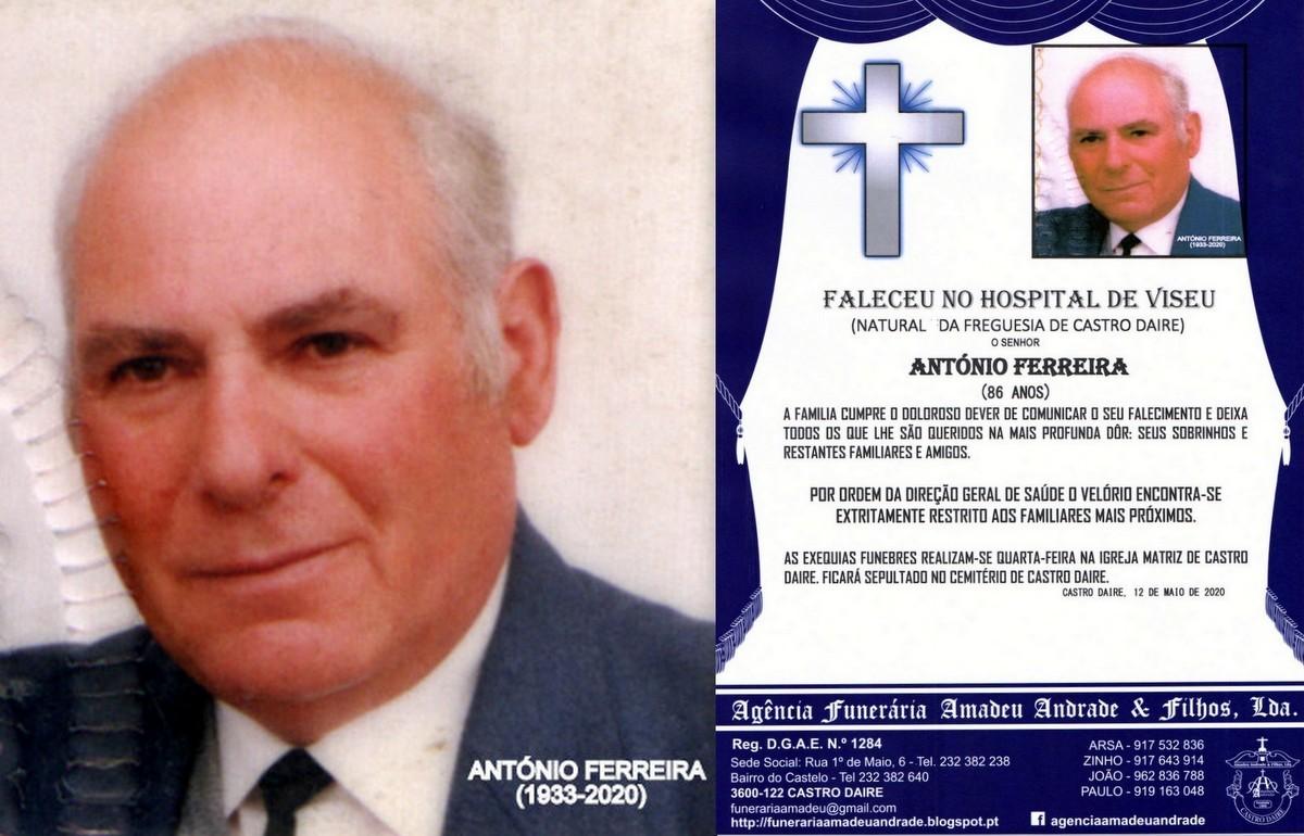 FOTO RIP DE ANTÓNIO FERREIRA-86 ANOS 8CASTRO DAIR