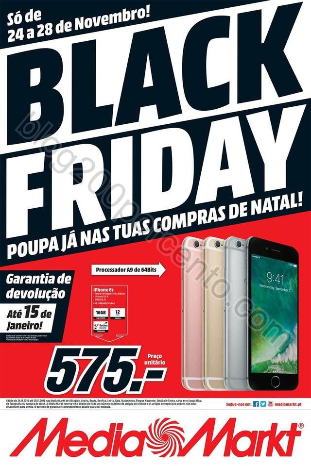 Antevisão Folheto MEDIA MARKT Black Friday promo