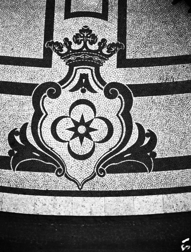 Calçada portuguesa, Marquês de Pombal, 1940, fot