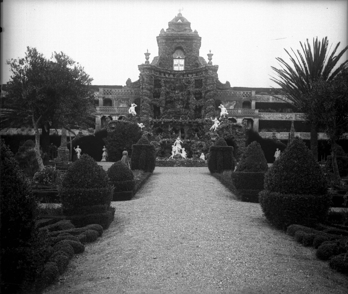 Paço Real de Caxias, jardim, sd, foto de Casa Fot