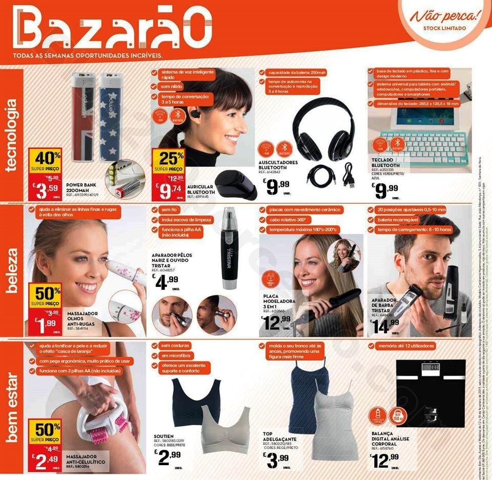 AntevisãoFolheto Promoções Continente Bazarão 12a18fev