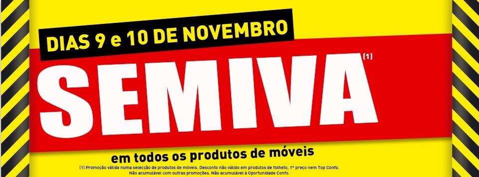 Promoção   CONFORAMA   Fim de semana sem IVA