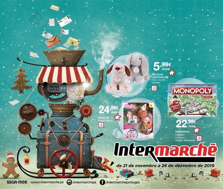 Antevisão Folheto INTERMARCHÉ Brinquedos Natal P