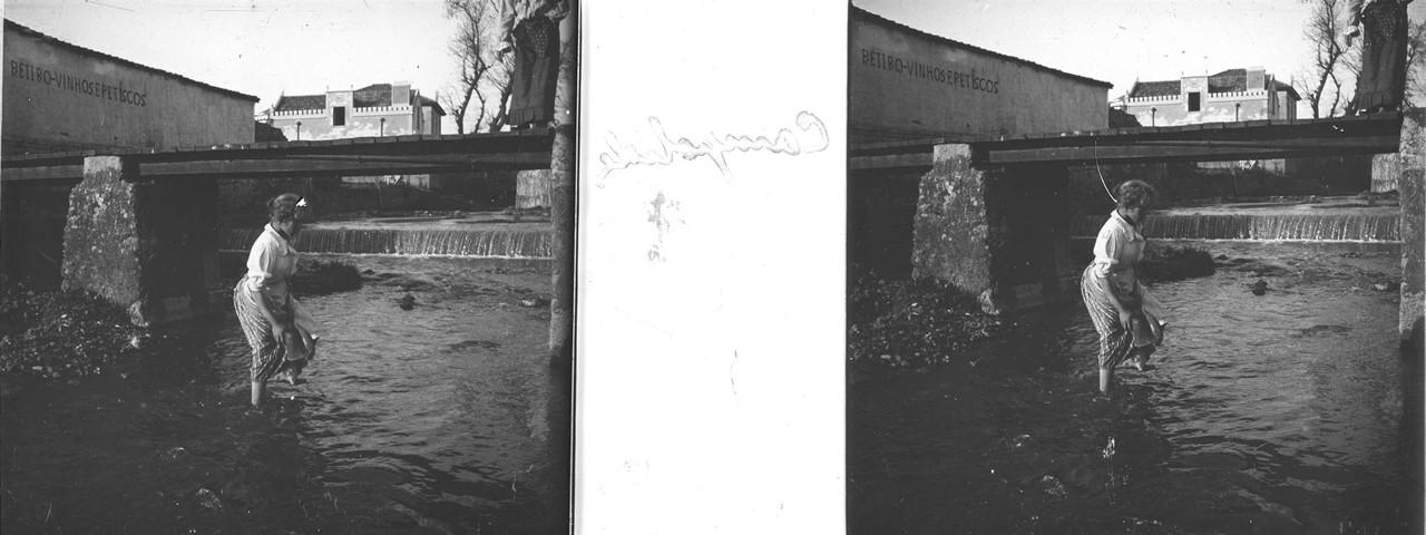 Retiro junto à Ribeira de Alcântara, sd, foto de