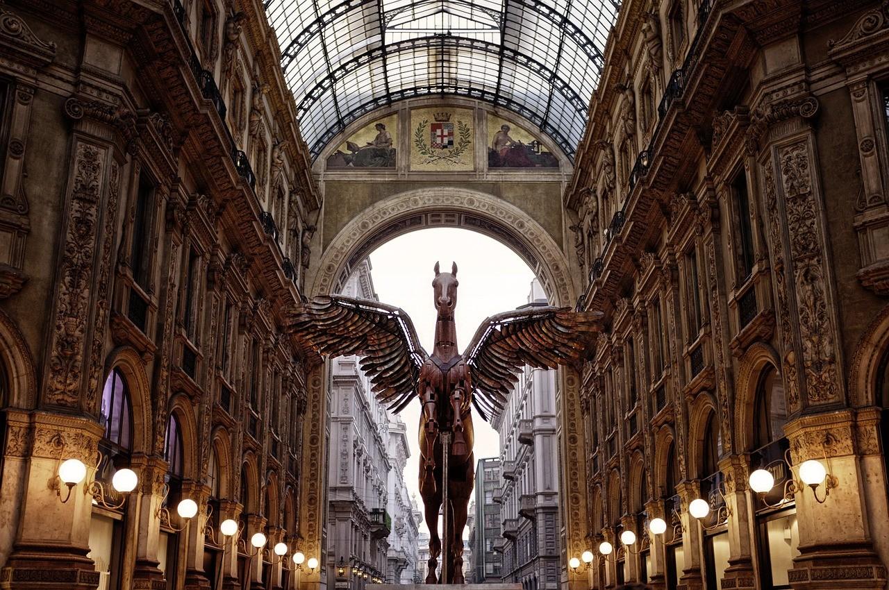 Galeria em Milão