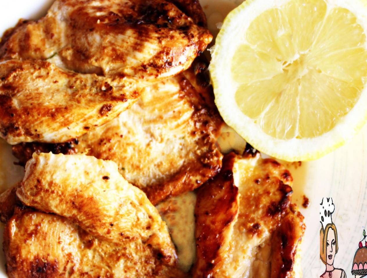 Bifes de frango limoncello