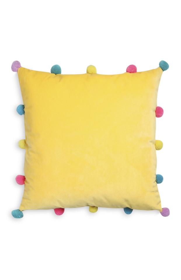Kimball-5559901-Pom Pom Cushion, ROI E, FRIT E, IB