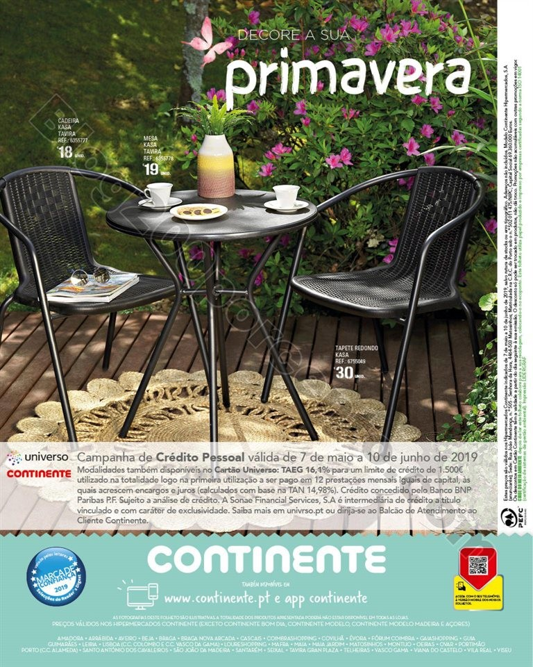 Antevisão Folheto CONTINENTE Feira ar livre promo