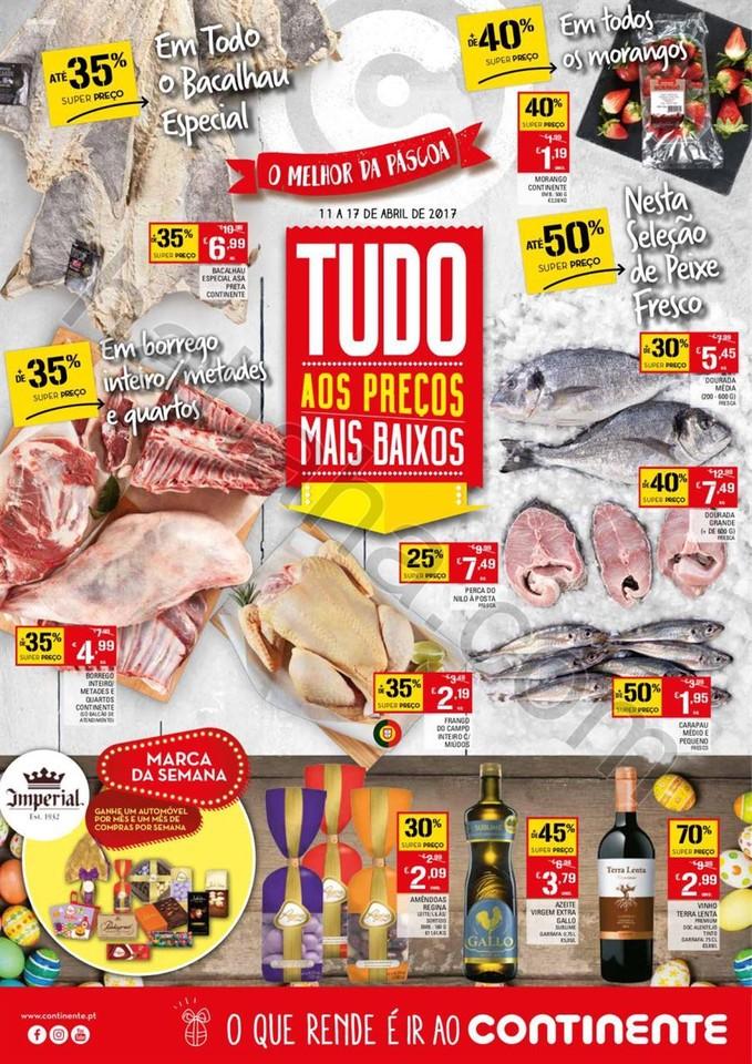 Antevisão Folheto CONTINENTE Promoções de 11 a