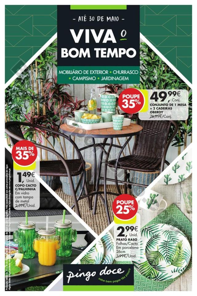 Antevisão Folheto PINGO DOCE Bazar ar livre Promo