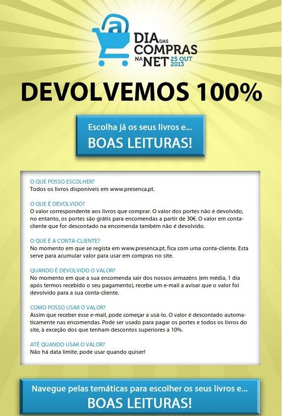 100% de Desconto   EDITORIAL PRESENÇA   só hoje 25 Outubro