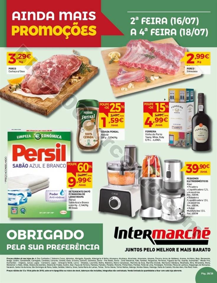 Antevisão Folheto INTERMARCHÉ Promoções de 12