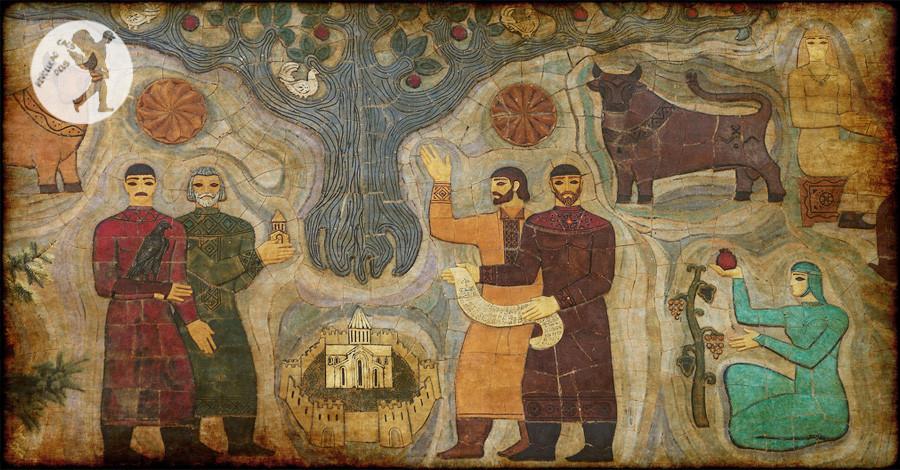 De Metskheta a Ananuri