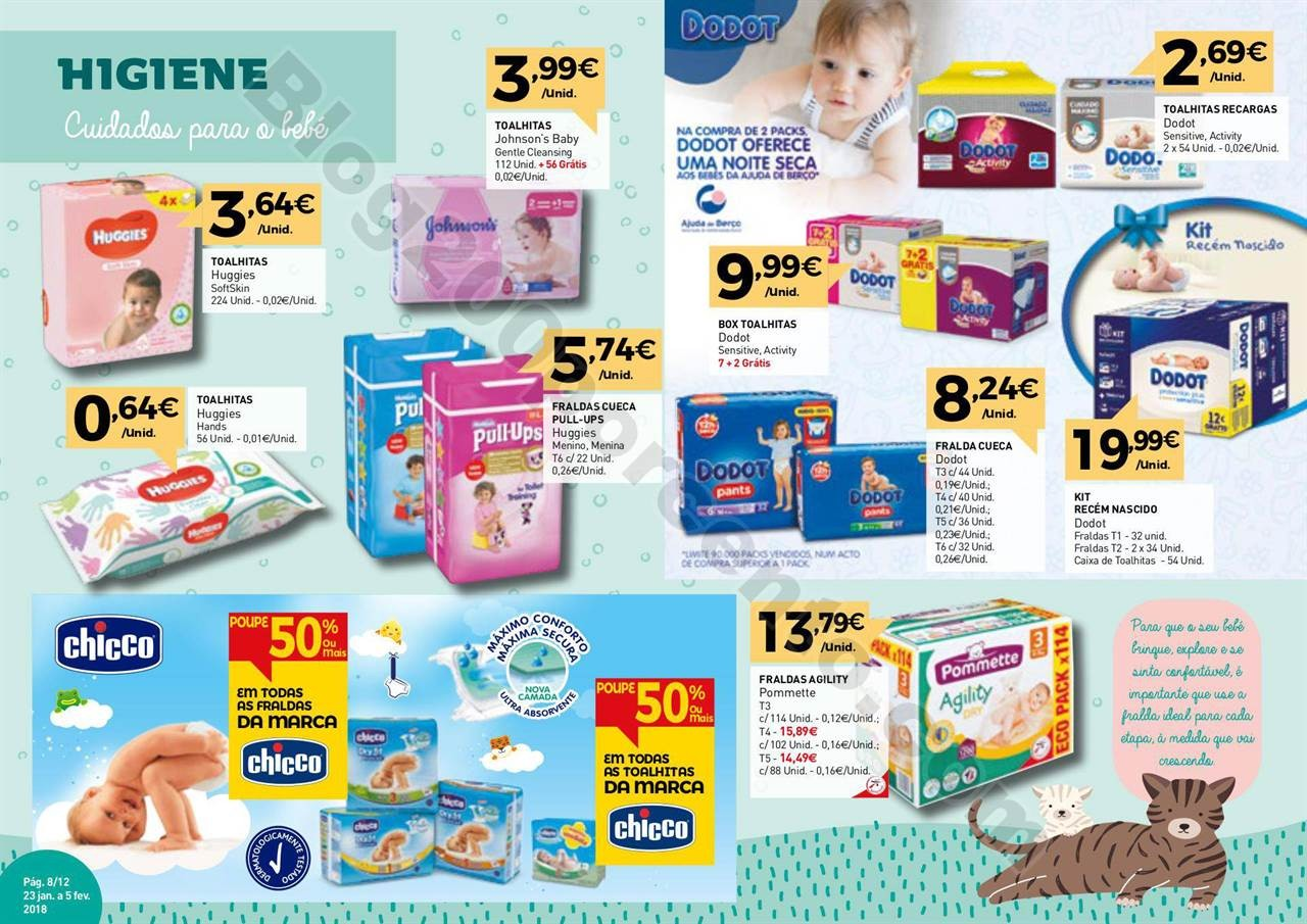 Antevisão Folheto INTERMARCHÉ Extra Bebé promo