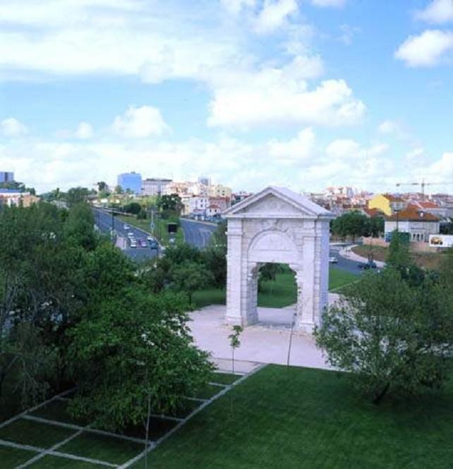 Praça de Espanha ,  Arco de São Bento, 2000, fot
