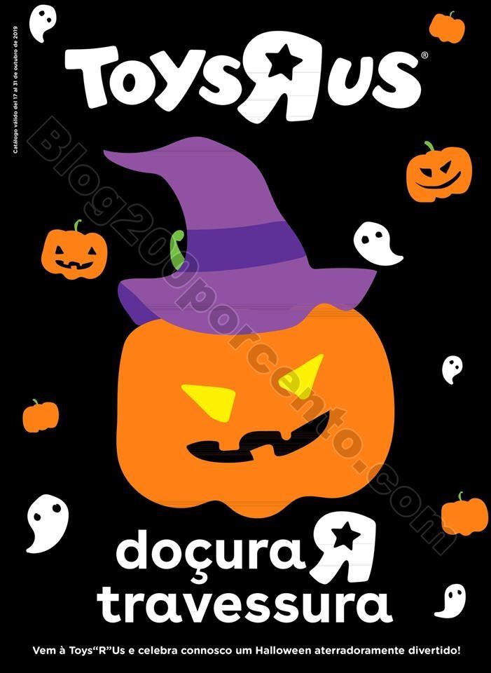 Antevisão Folheto TOYSRUS Halloween Promoções d
