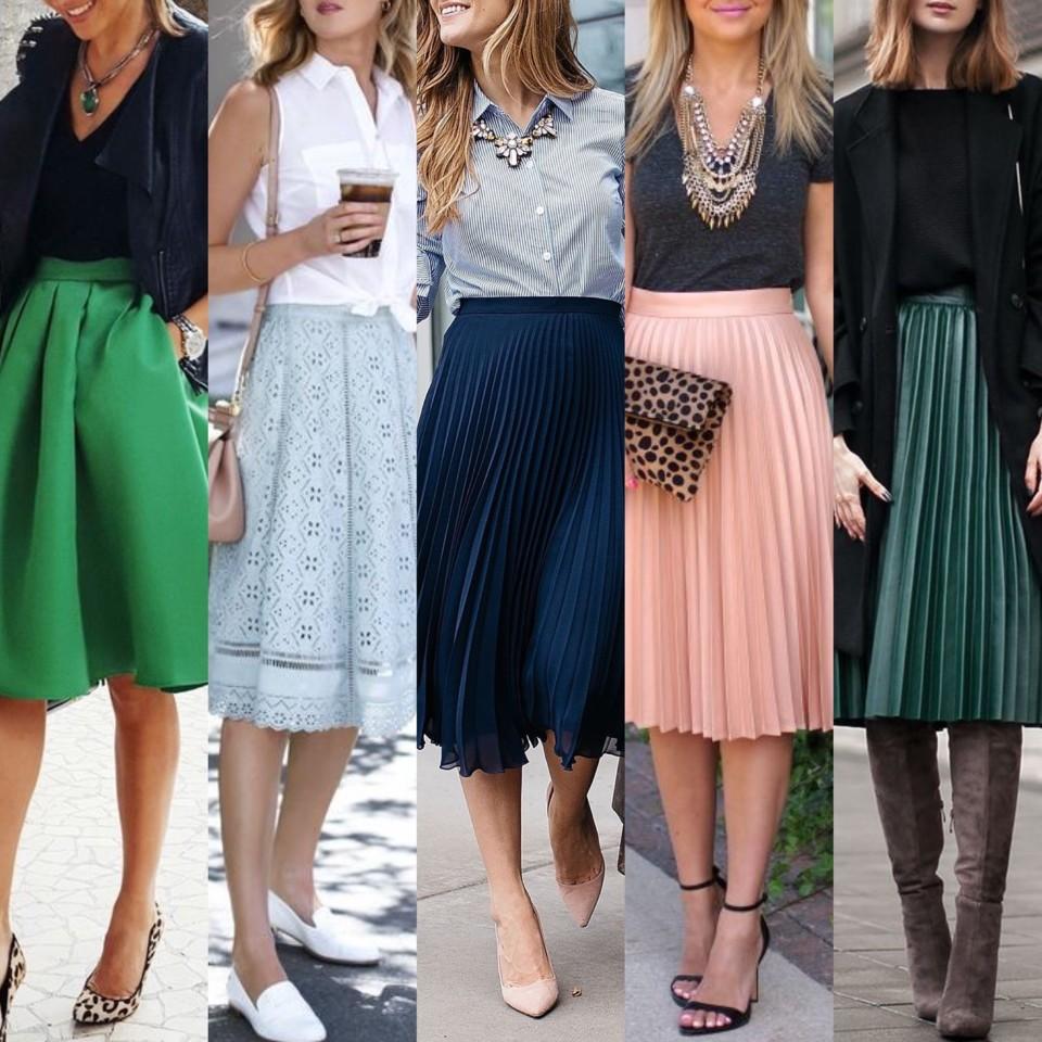 TRENDS | Midi Skirts - sugestões