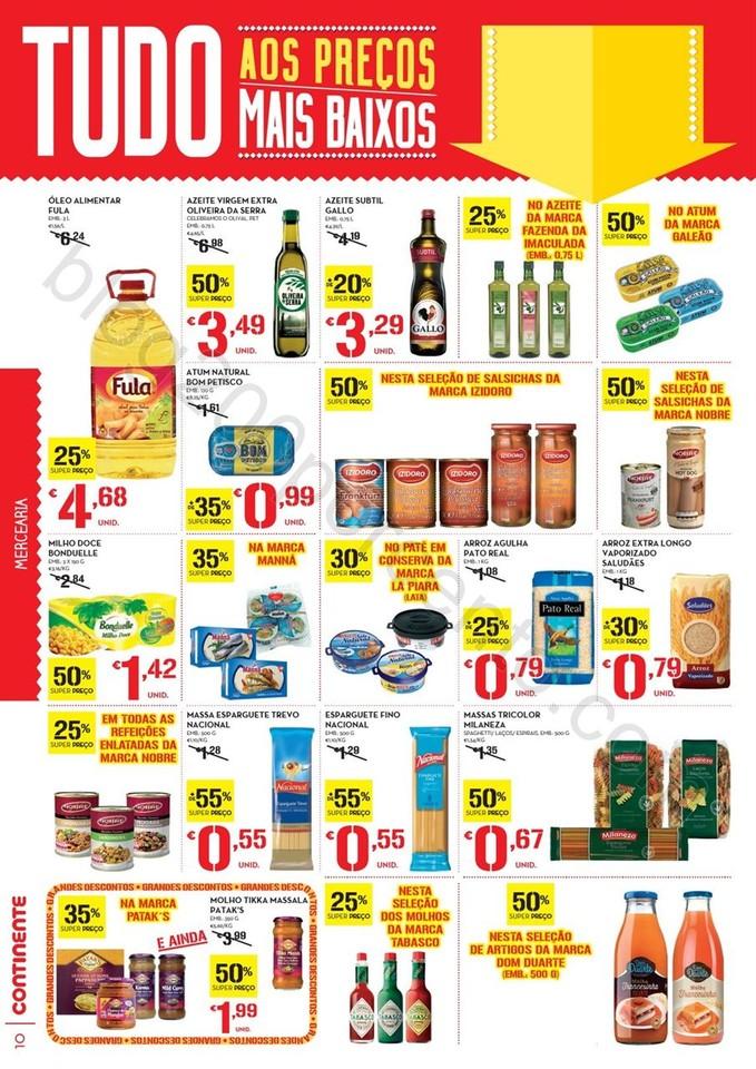 Antevisão Folheto CONTINENTE Promoções de 21 a