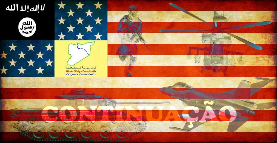 Terrorismo-colonização da Síria (continuação)
