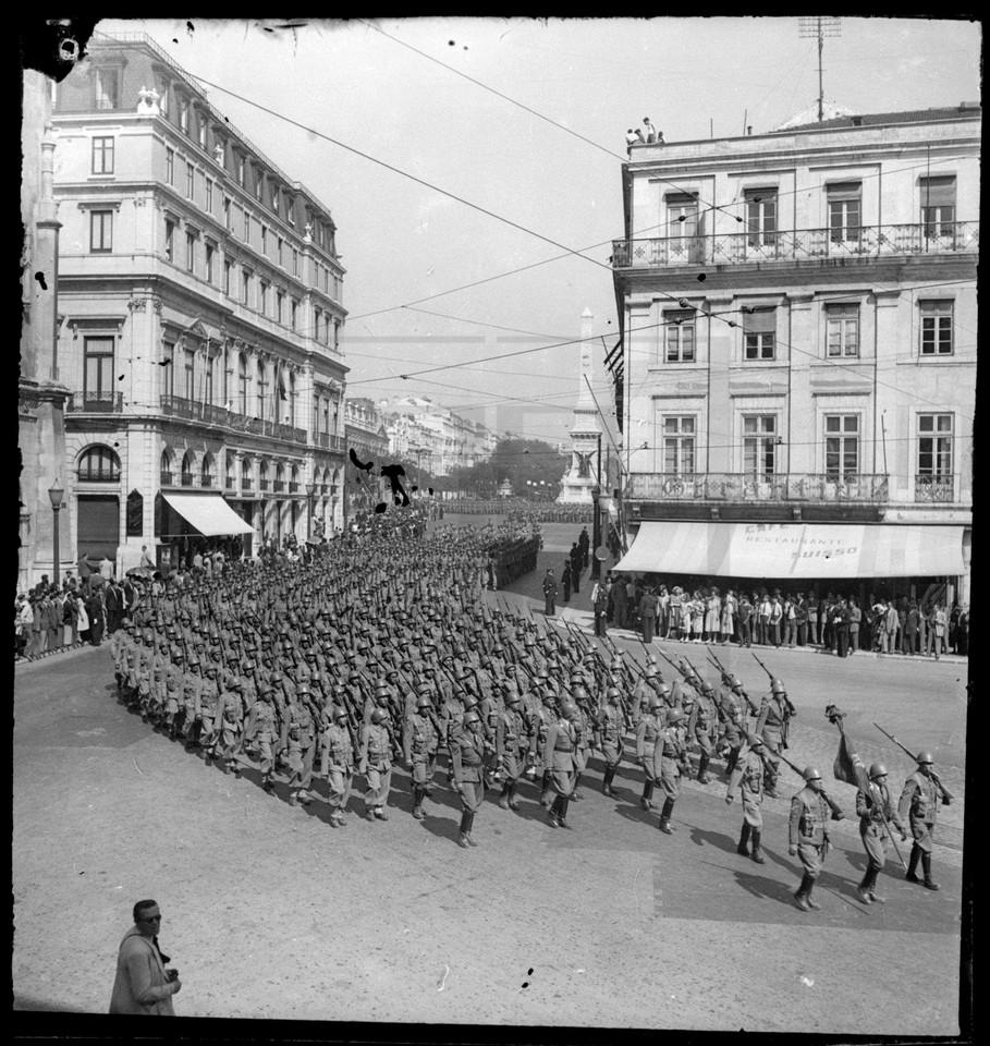 Parada militar, Lisboa, [194...]