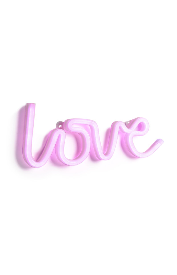 KIMBALL-0850302-LOVE NEON LIGHT, GRADE MISSING, WK