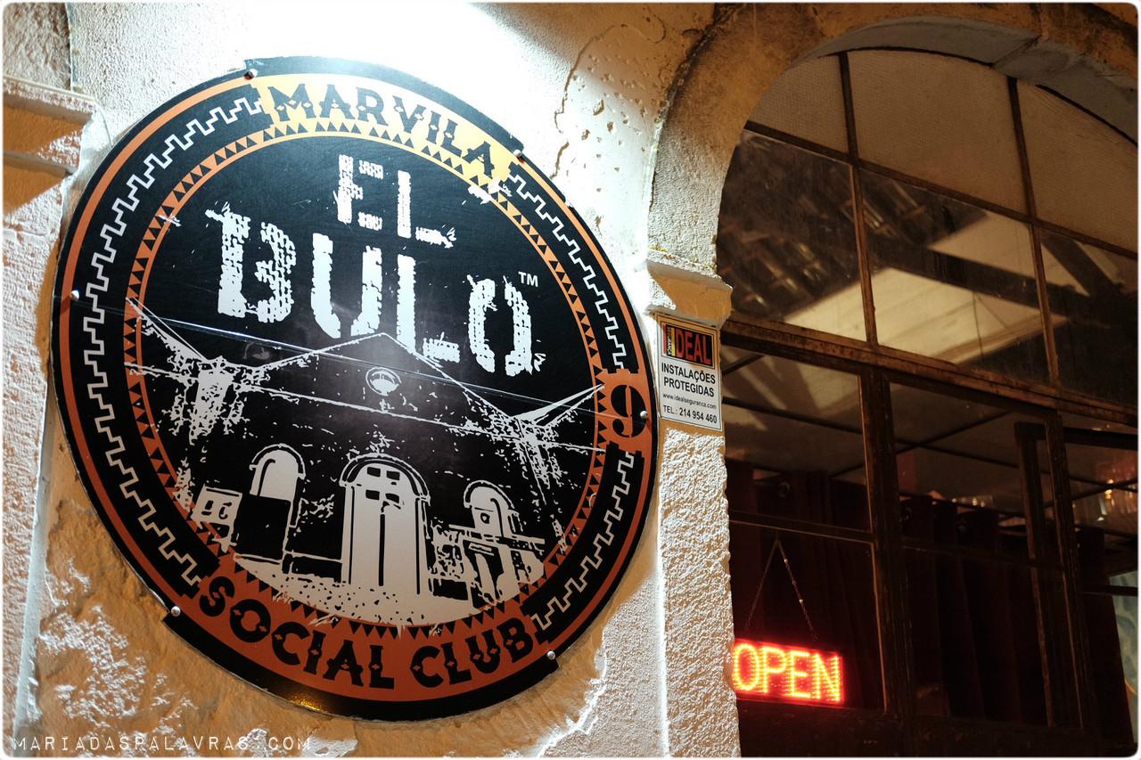 Fachada el Bulo | Maria das Palavras