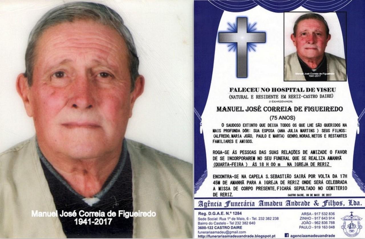 FOTO -RIP-DE MANUEL JOSÉ CORREIA DE FIGUEIREDO-75