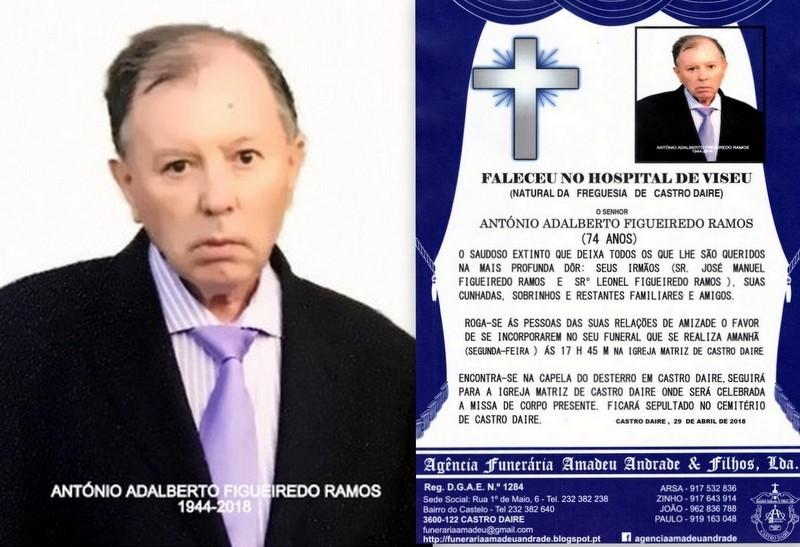 RIP FOTO -ANTÓNIO ADALBERTO FIGUEIREDO RAMOS -74