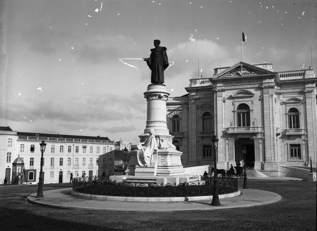 Monumento a Sousa Martins e a escola Médica, post