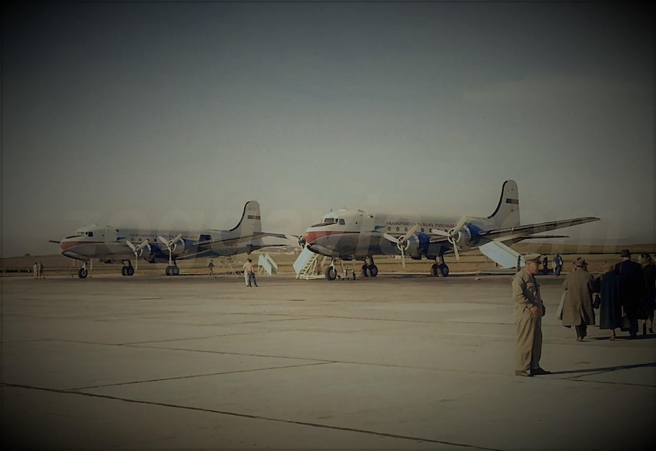 Skymasters CS-TSA e CS-TSD, Portela (Zoggavia, 1954)