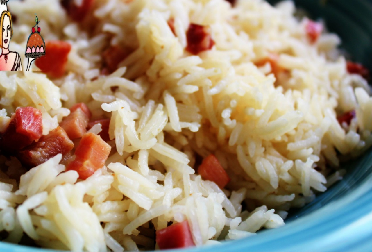Arroz de bacon