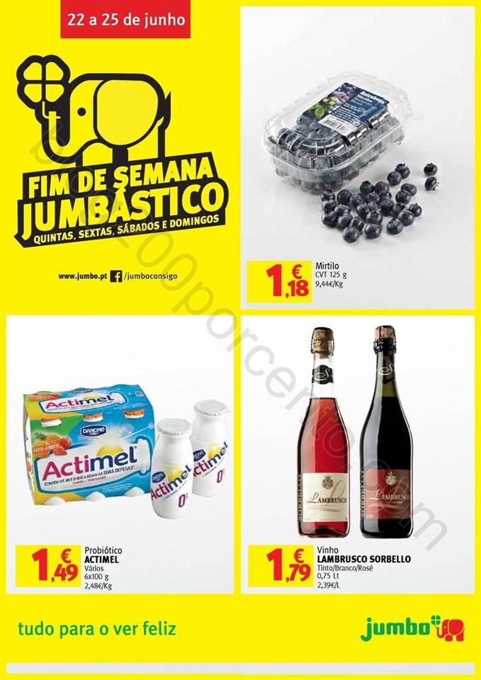 Antevisão Folheto JUMBO Fim de semana promoções