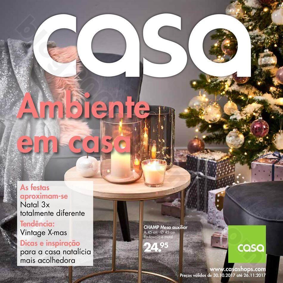 Antevisão Folheto CASA Natal promoções de 30 ou