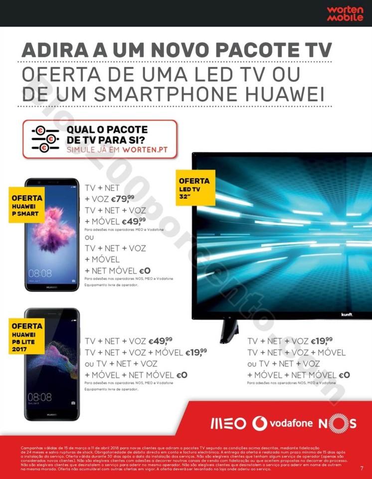 Antevisão Folheto WORTEN Mobile promoções de 15