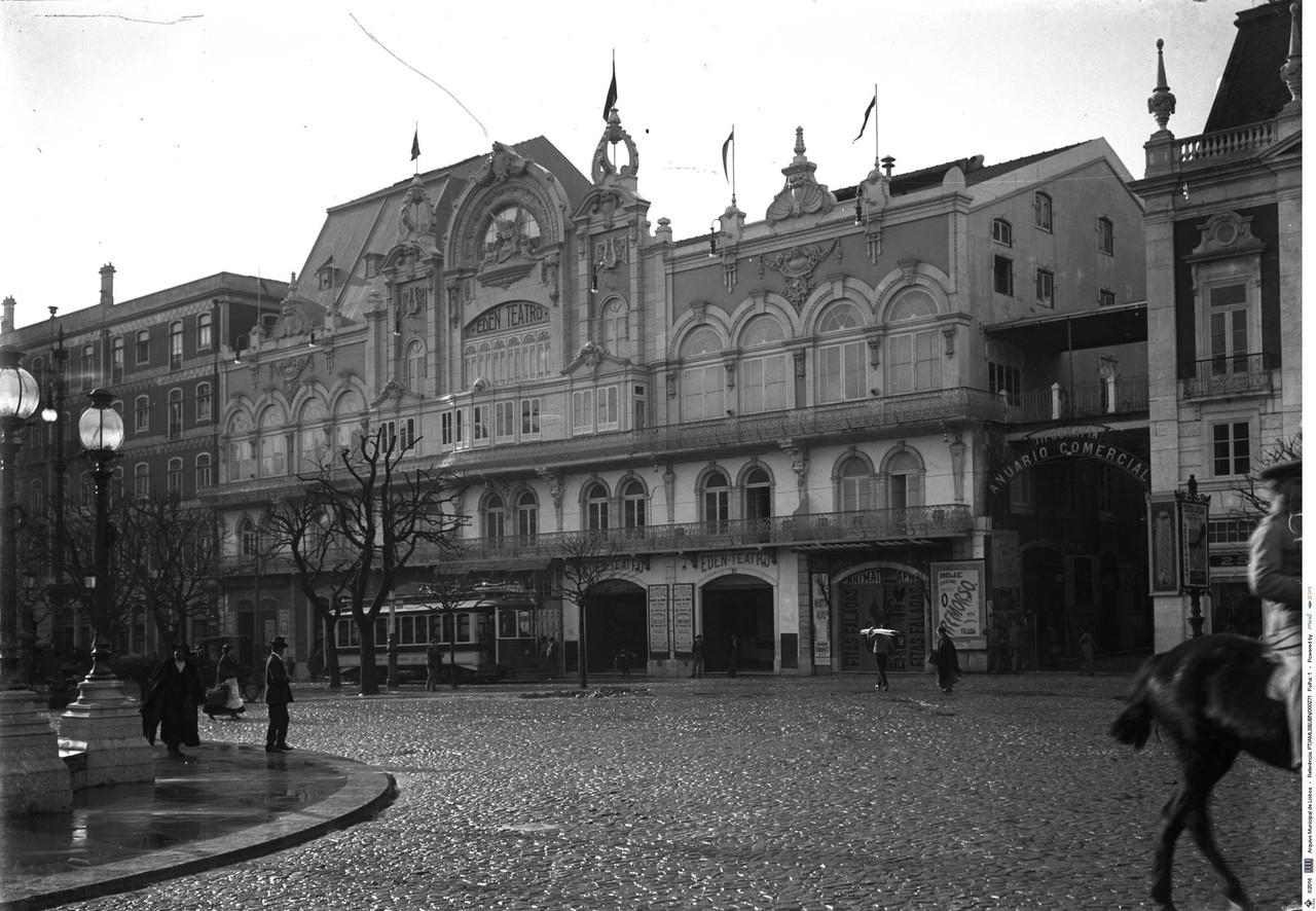Antigo Eden Teatro, foto de Joshua Benoliel.jpg