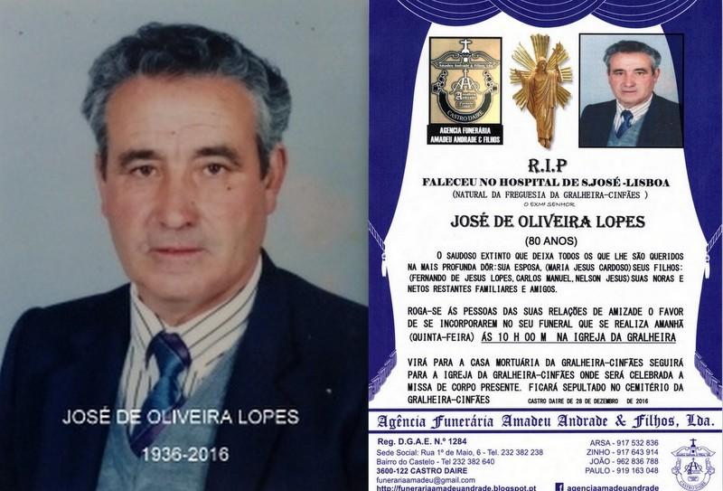 FOTO-RIP- DE JOSÉ DE OLIVEIRA LOPES-8O ANOS (GRAL