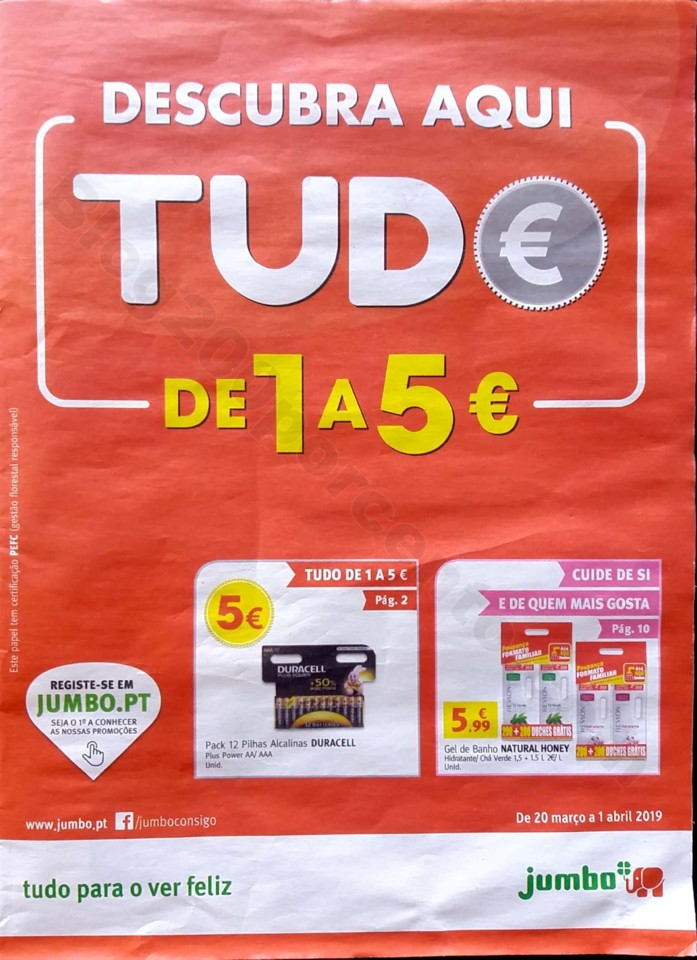 antevisao folheto jumbo 1 a 5 euros promocoes de 2