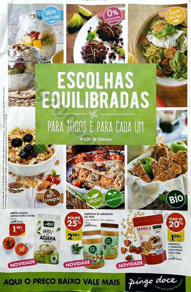 folheto extra pingo doce escolhas saudáveis 15 a