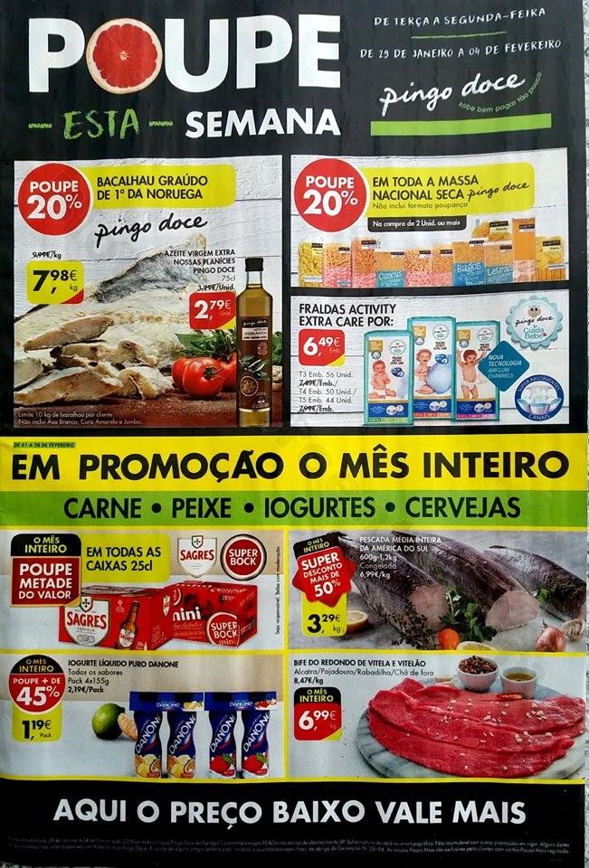 Antevisão folheto Promoções Pingo Doce 29jan4fev
