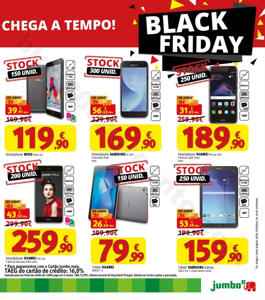 Antevisão Folheto JUMBO Black Friday de 24 a 28 n