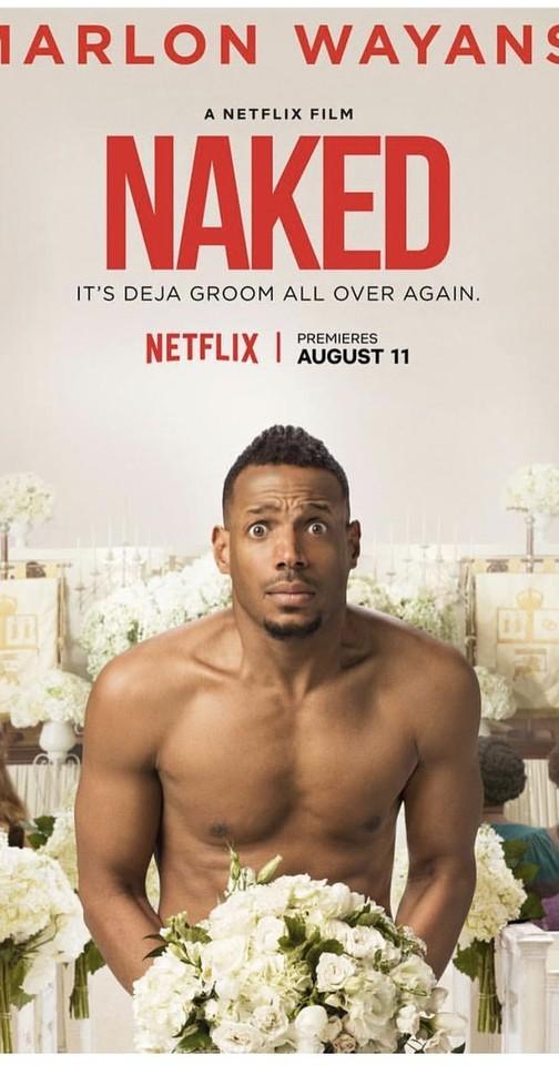 Naked cartaz do filme na Netflix