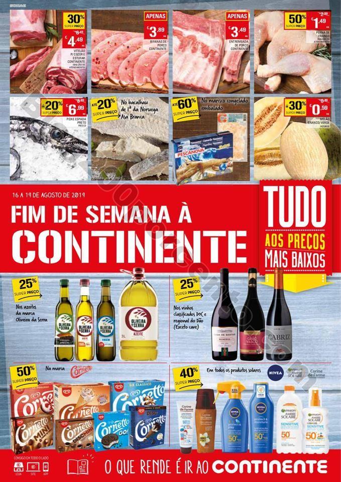 Antevisão Folheto CONTINENTE Fim de semana 16 a 1