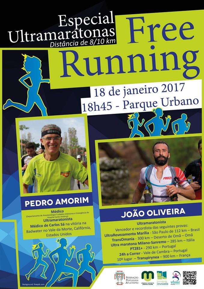 Free Running Especial João Oliveira e Pedro Amor