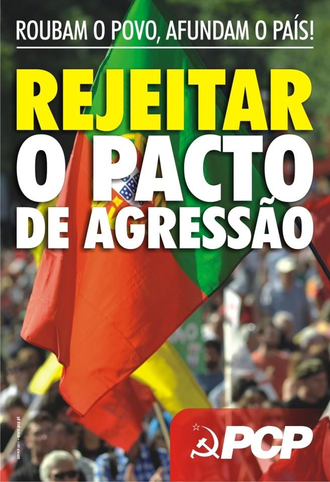Rejeitar o Pacto de Agressão, Lutar por um Portugal com futuro