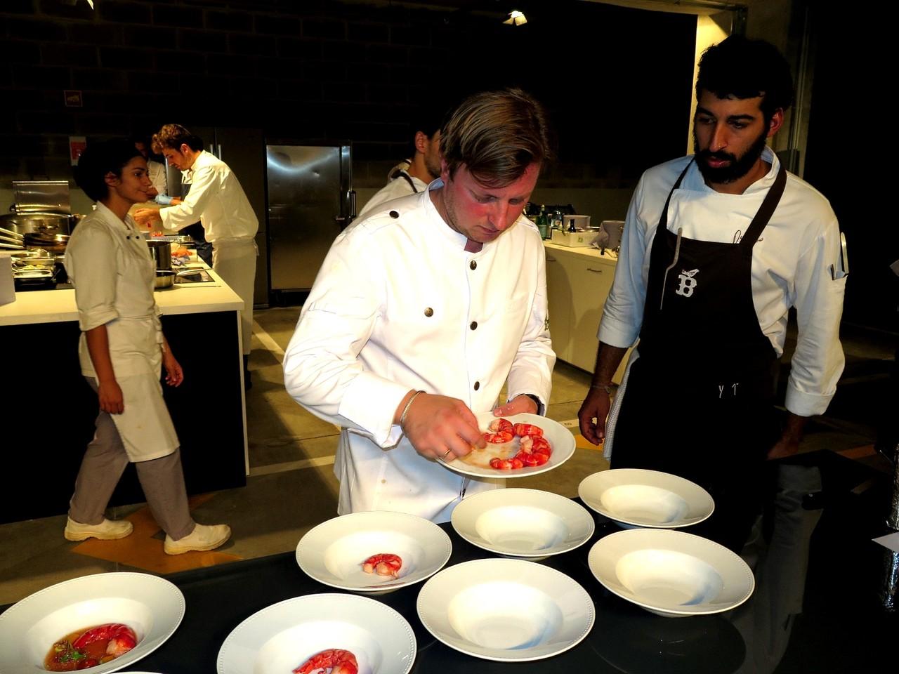 Kevin Fehling e David Jesus, chef de cozinha do BELCANTO de José Avillez